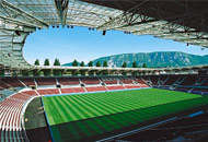Stadion in Genf